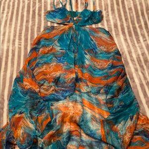Beautiful Hi-Lo Maxi Dress Size S